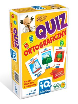 Gra IQ Quiz Ortograficzny