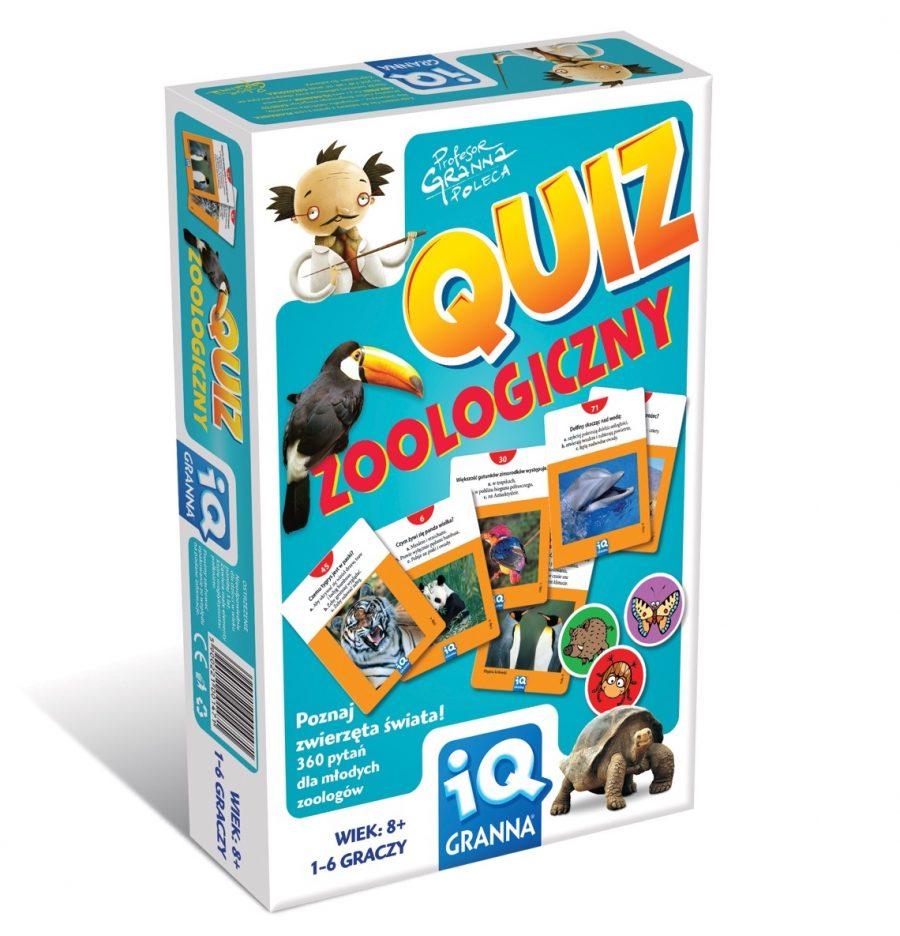 Gra IQ Quiz Zoologiczny