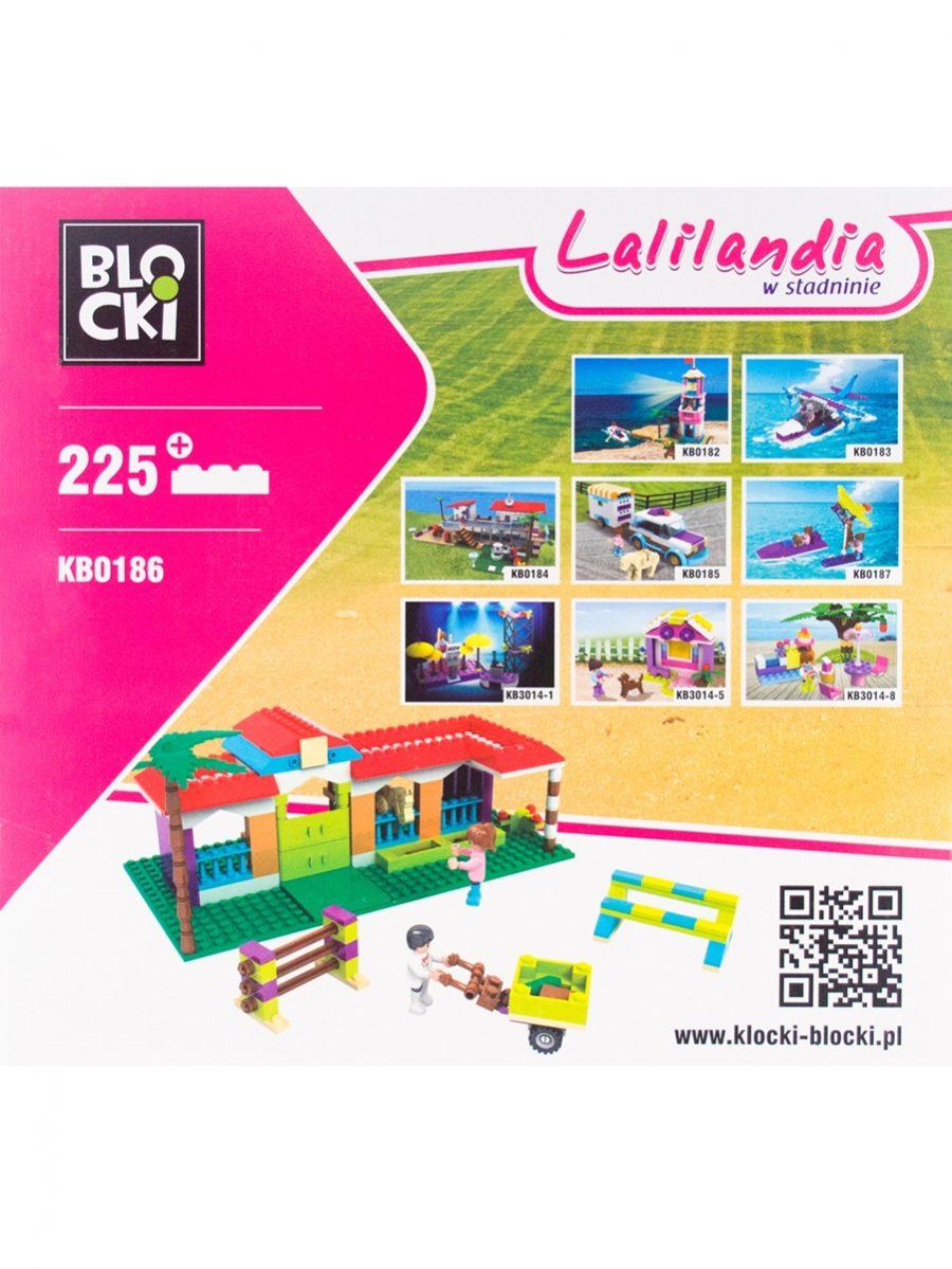 Klocki Blocki - Lalilandia W Stadninie - zabawka